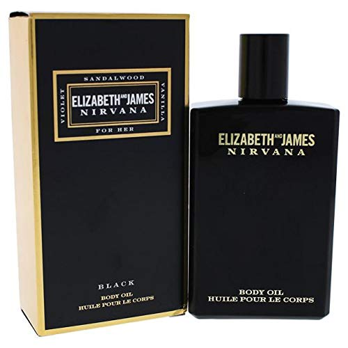 Exciting Elizabeth and James Nirvana Black Body Oil for Women