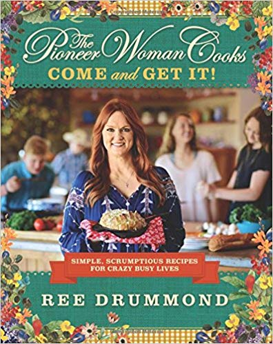 Celebrity Cookbooks: Ree Drummond's The Pioneer Woman Cooks (Hardcover and Kindle Edition)