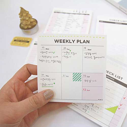Create A Weekly Attack Plan For An Organised Living